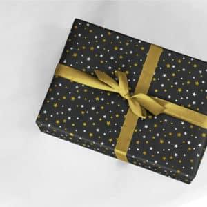papier cadeau étoile