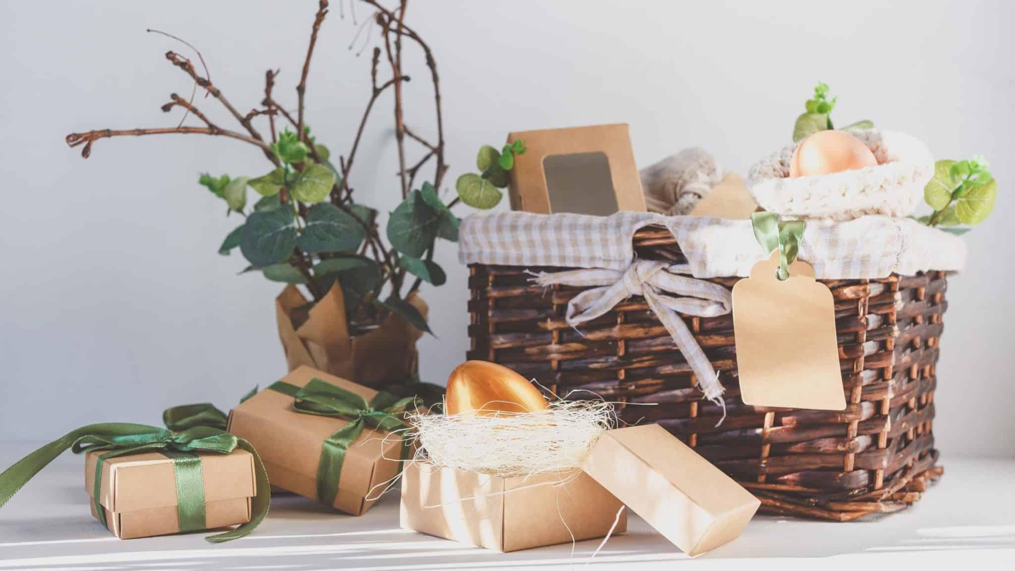 boite panier et coffrets cadeaux