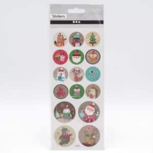 stickers noel emballage cadeau