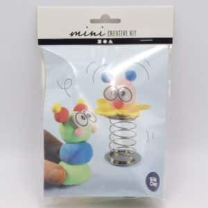 Mini kit loisirs créatifs pour fabriquer des petits clowns rigolos