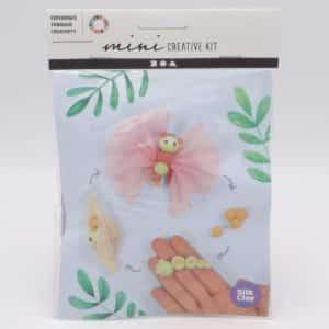 kit créatif pour enfant, le cycle de la vie du papillon