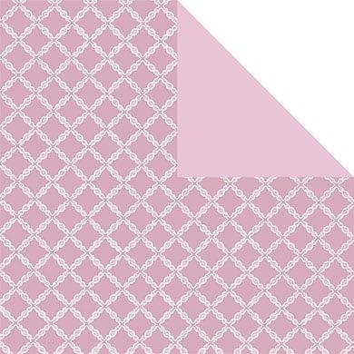 Emballage cadeaux rose et blanc.