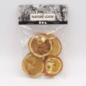 sachet de rondelles d'oranges décorative