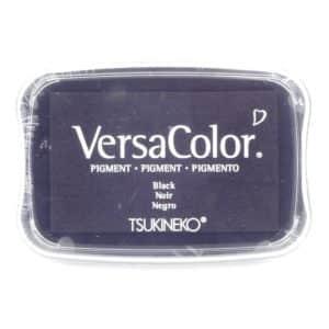coussin encreur noir Versa Color