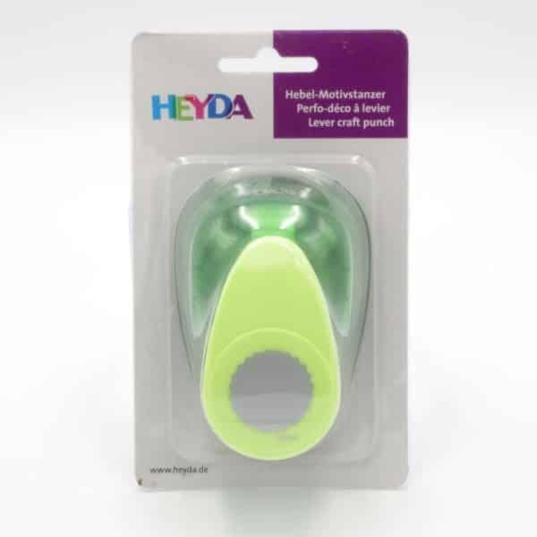 perforatrice cercle cannelé moyen modèle Heyda